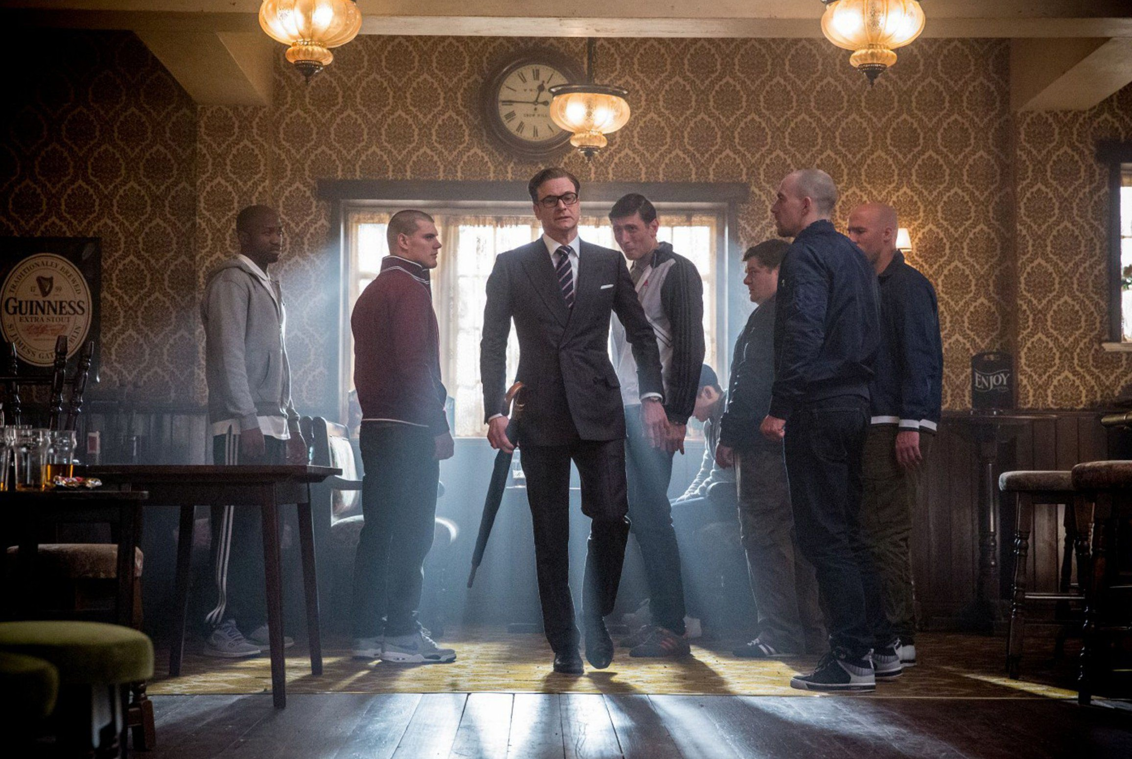No Merchandising. Editorial Use Only. No Book Cover UsagenMandatory Credit: Photo by Moviestore/REX/Shutterstock (4076881f)nColin Firthn'Kingsman: The Secret Service' Film - 2015nn