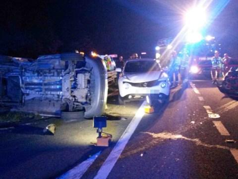 Van driver blames sat nav after three-point turn on dual carriageway causes carnage
