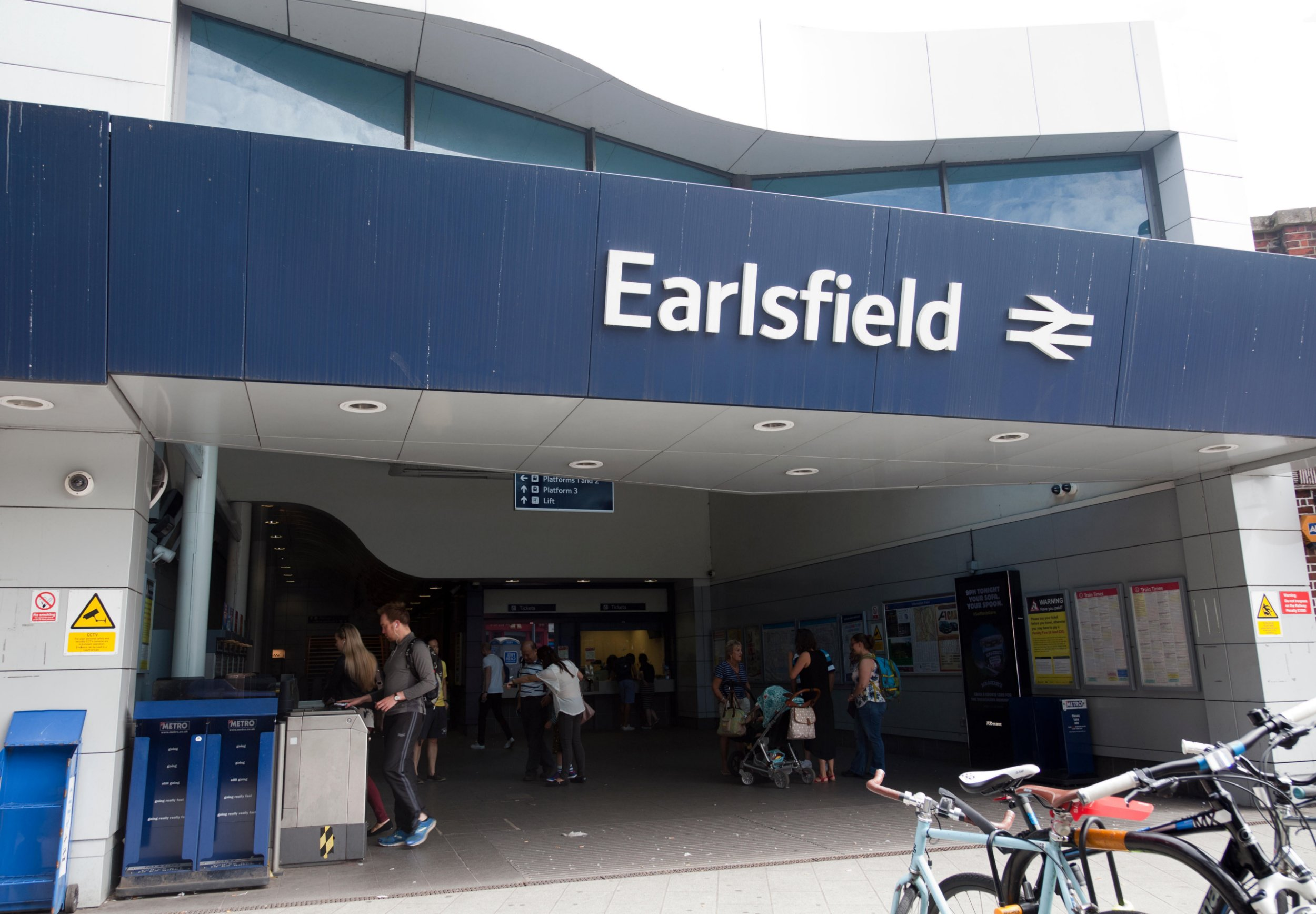 Woman suffers head injuries after being hit by train in south-west London