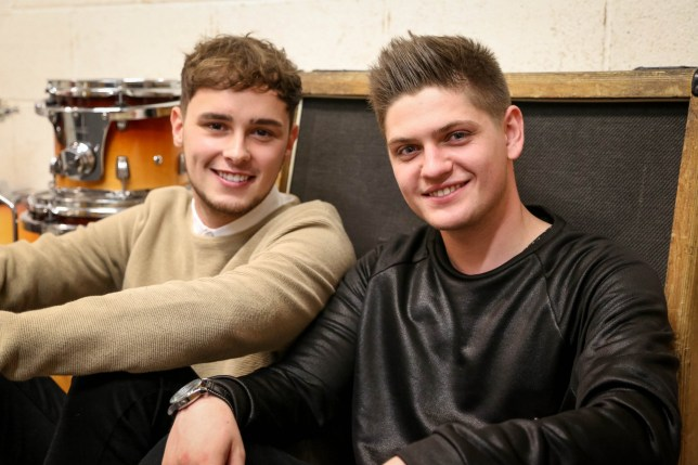 For use in UK, Ireland or Benelux countries only Undated BBC handout photo of Joe Woolford and Jake Shakeshaft , one of six contestants taking part to find the act to represent the United Kingdom at this year's Eurovision. PRESS ASSOCIATION Photo. Issue date: Monday February 22, 2016. The UK selection show will be broadcast live on BBC Four at 7.30pm and is hosted by The Great British Bake Off presenter Mel Giedroyc. See PA story SHOWBIZ Eurovision. Photo credit should read: Nora Ryan/BBC/PA Wire NOTE TO EDITORS: Not for use more than 21 days after issue. You may use this picture without charge only for the purpose of publicising or reporting on current BBC programming, personnel or other BBC output or activity within 21 days of issue. Any use after that time MUST be cleared through BBC Picture Publicity. Please credit the image to the BBC and any named photographer or independent programme maker, as described in the caption.