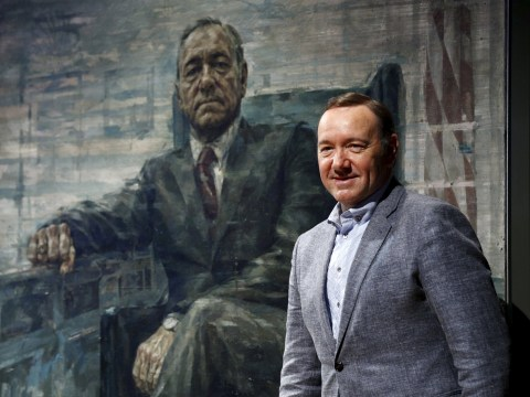 President Underwood now has a portrait at the Smithsonian's National Portrait Gallery