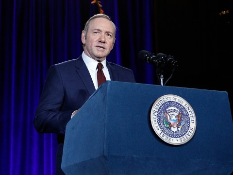 Kevin Spacey's views on US politics are pretty poignant