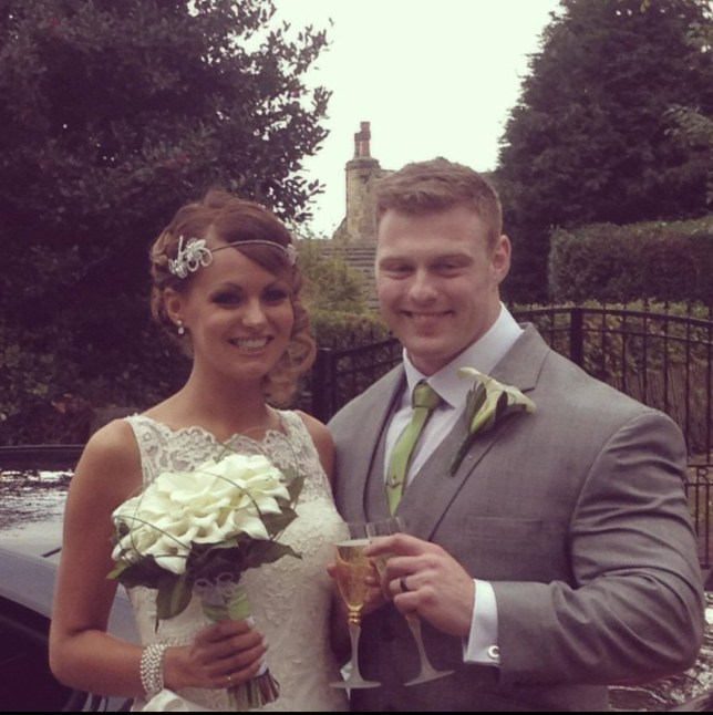 collect wedding pictures from LIAM CROSSLEY with wife LUCY