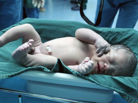 This newborn baby is actually 12 years old