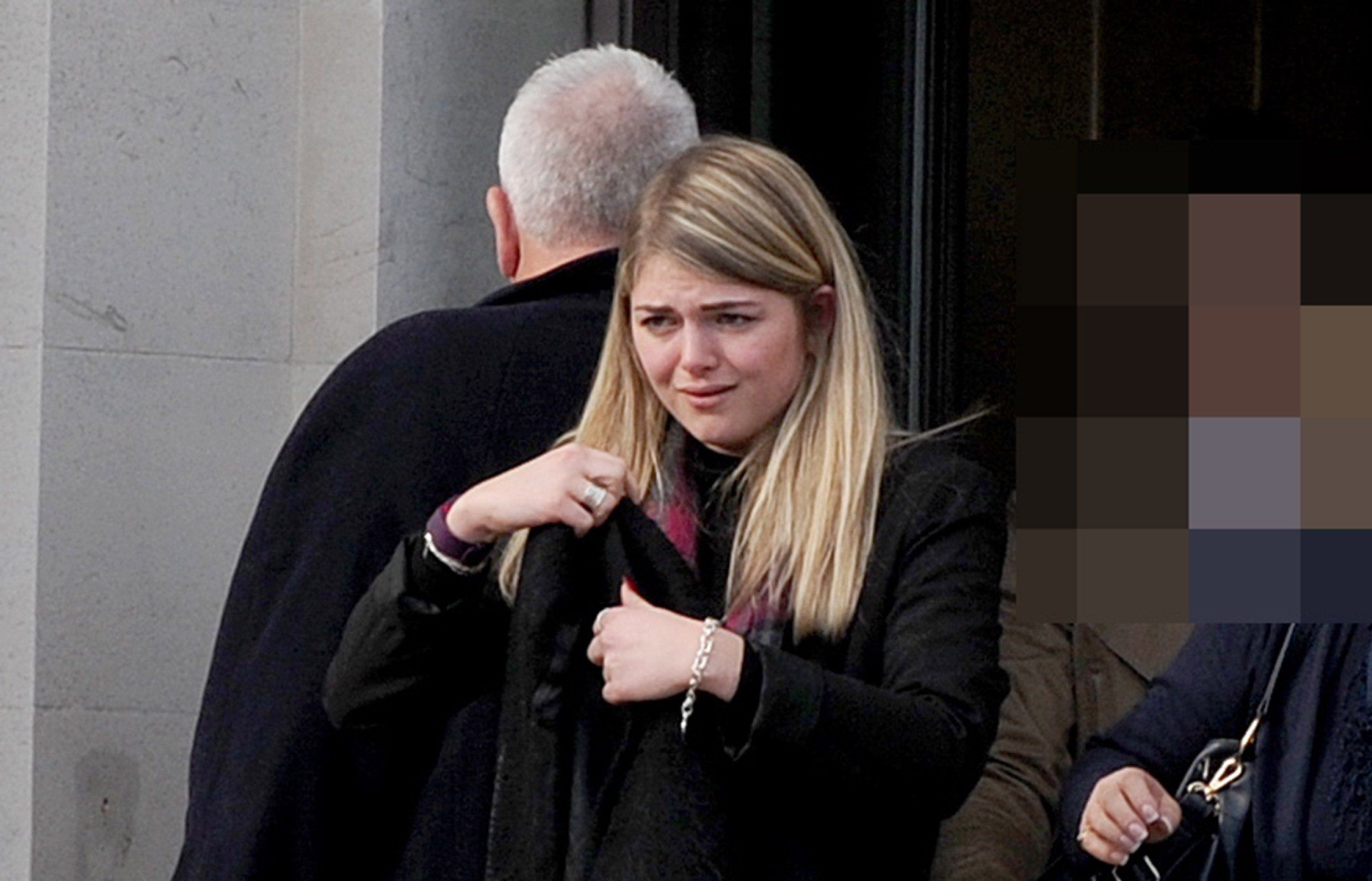 "Pictured: Emily Davis, 21, outside Portsmouth Magistrates' Court. A young motorist caught parking with her dead grandmother's blue badge told investigators: ""I'm using it in her honour."" Emily Davis, 21, was stopped while using the disabled person's badge to park in her Mini One in St George's Square, Portsea, Hants. Quizzed by a Portsmouth City Council investigator she first claimed her grandmother was shopping nearby. But in truth, her grandmother Elizabeth Davis died in September 2014 ñ nearly a year before Davis was caught. Now she has been fined £750 with an extra £360.20 to pay on top in costs. SEE OUR COPY FOR MORE DETAILS. © Portsmouth News/Solent News & Photo Agency UK +44 (0) 2380 458800"