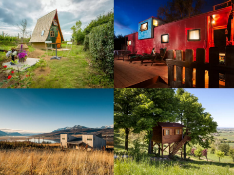 8 cool and quirky Airbnbs to plan your holiday around