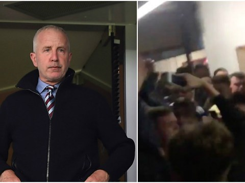 Footage emerges of Aston Villa fans attacking Randy Lerner with death chant