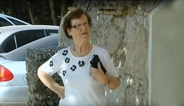 Cecilia Gimenez has become a local celebrity for her restoration (Picture: Youtube)