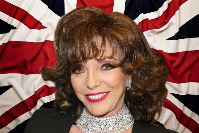 Joan Collins is in the 'out' camp (Picture: Getty)