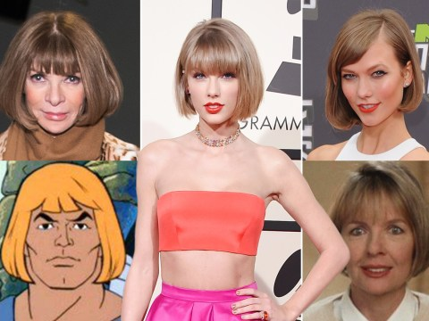 14 things Taylor Swift ended up looking like at the 2016 Grammys: From Anna Wintour to He-Man