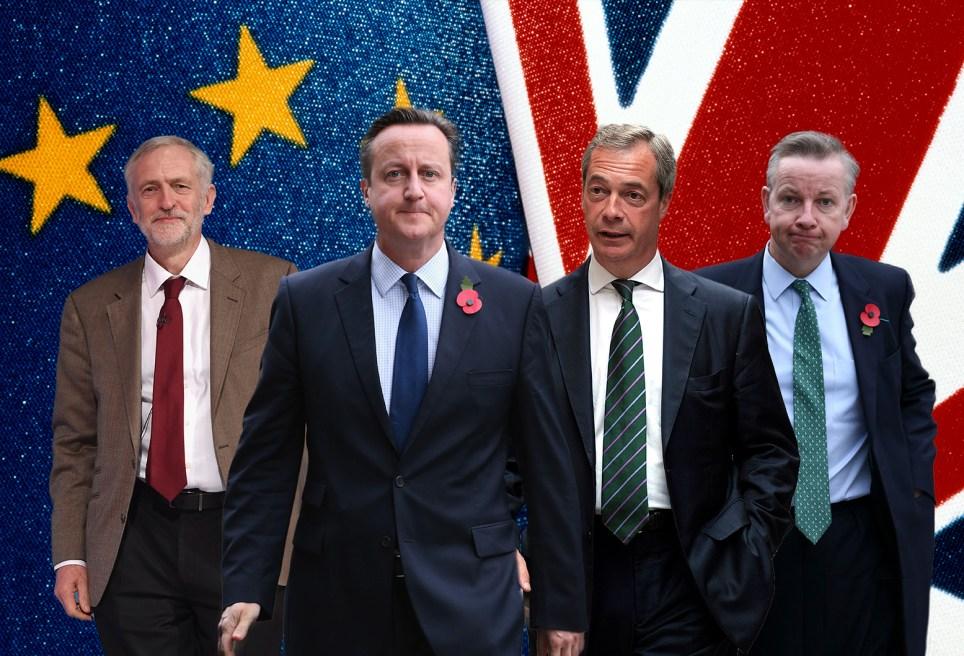 Who's on which side? (Picture: Getty Images/Metro)