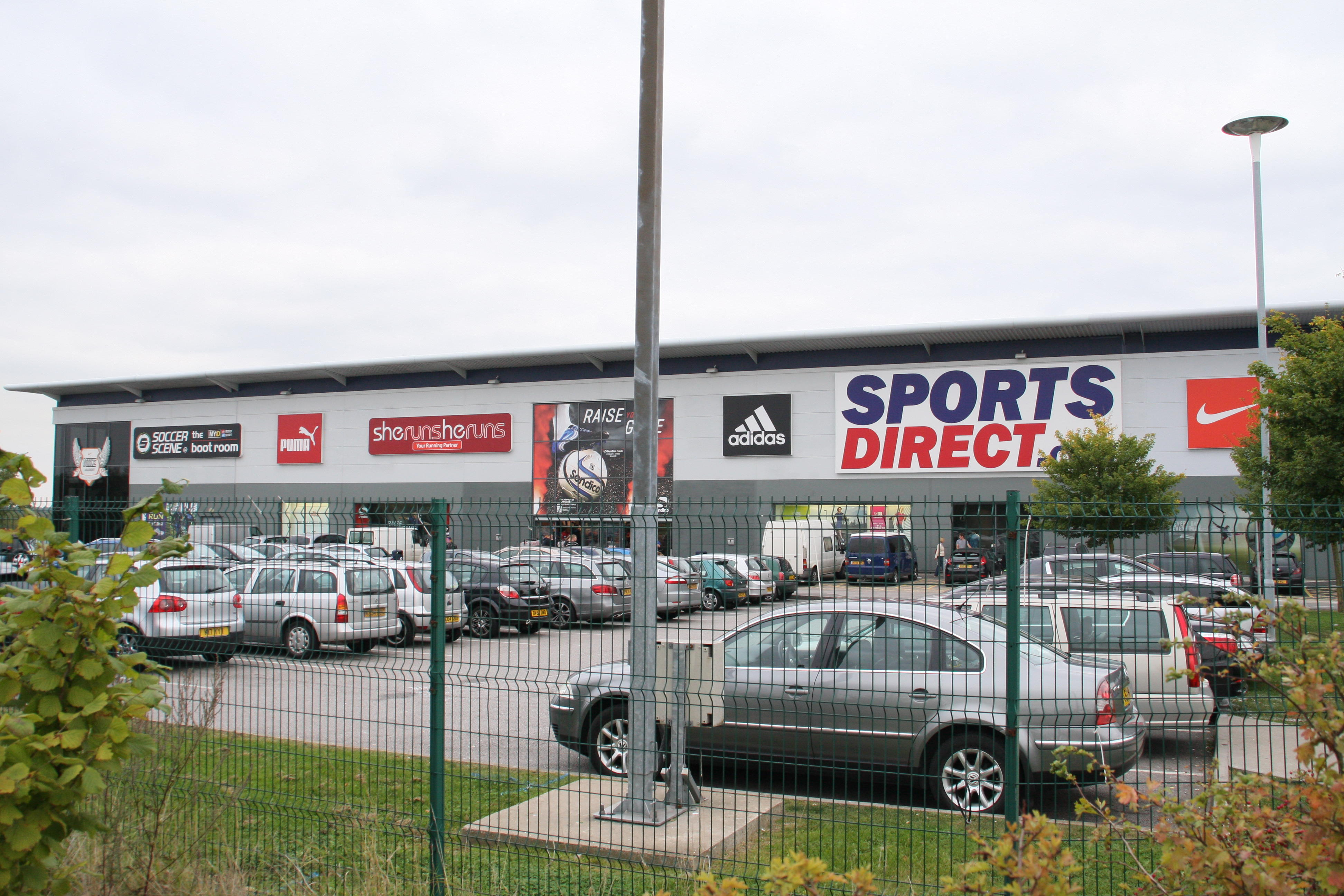 Sports Direct's warehouse in Shirebrook (Picture: Alamy)