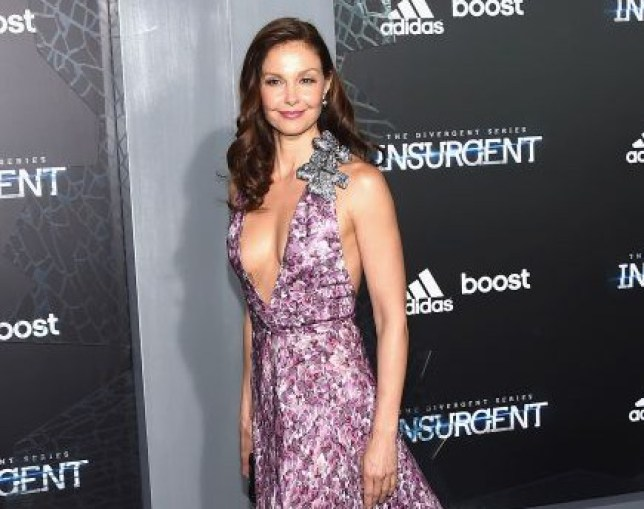 "Actress Ashley Judd attends ""The Divergent Series: Insurgent"" New York premiere at Ziegfeld Theater in New York City, America. NEW YORK, NY - MARCH 16: (Photo by Larry Busacca/Getty Images)"