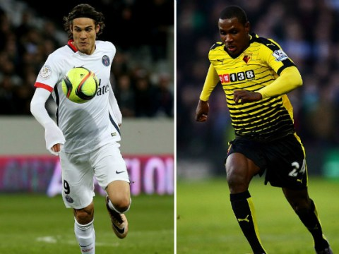 Rumour: Edinson Cavani, Odion Ighalo and Ahmed Musa on Manchester United shortlist for transfer deadline day