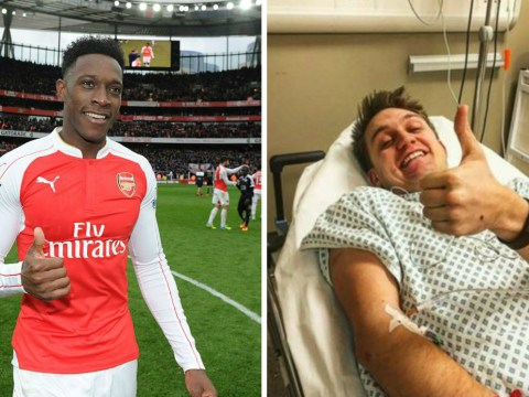 Arsenal fan admitted to hospital with hernia after over-celebrating Danny Welbeck winner