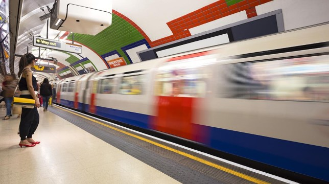 Londoners can travel on the tube for free for three days (starting tomorrow) if they use Apple Pay Credit: Getty Images