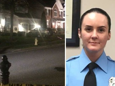 Female police officer shot dead on first shift