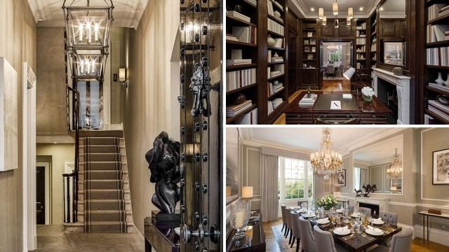 Behind the bulletproof door: Margaret Thatcher's £30m London home is for sale