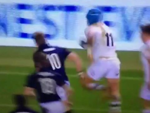 Jack Nowell finishes off stunning move as England beat Scotland in Six Nations opener