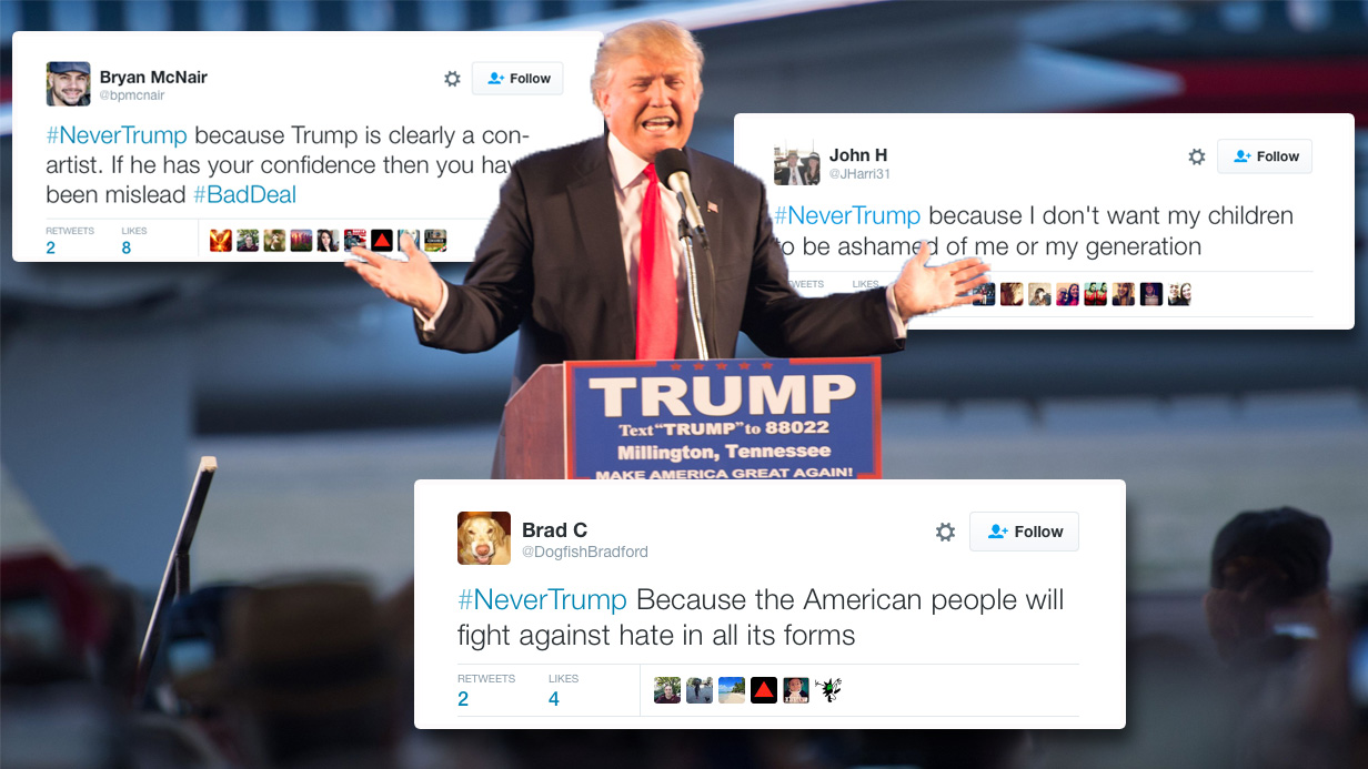 #NeverTrump: People are uniting worldwide against Donald Trump