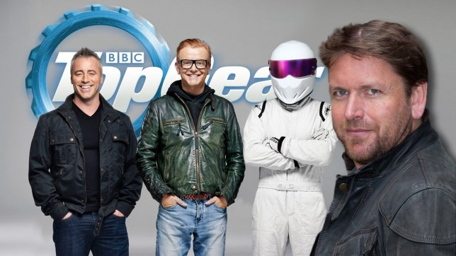 Actor Matt LeBlanc, Presenter Chris Evans and The Stig strike a pose. Undated BBC handout photo of Friends actor Matt LeBlanc with Chris Evans and The Stig, as LeBlanc is to be one of the new presenters of Top Gear, the BBC said today. PRESS ASSOCIATION Photo. Issue date: Thursday February 4, 2016. See PA story SHOWBIZ TopGear. Photo credit should read: BBC/PA Wire. For use in UK, Ireland or Benelux countries only NOTE TO EDITORS: Not for use more than 21 days after issue. You may use this picture without charge only for the purpose of publicising or reporting on current BBC programming, personnel or other BBC output or activity within 21 days of issue. Any use after that time MUST be cleared through BBC Picture Publicity. Please credit the image to the BBC and any named photographer or independent programme maker, as described in the caption.