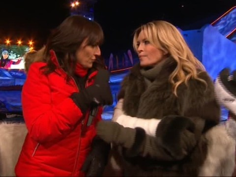 Injured Tina Hobley says she would 'absolutely love' to compete on The Jump next year