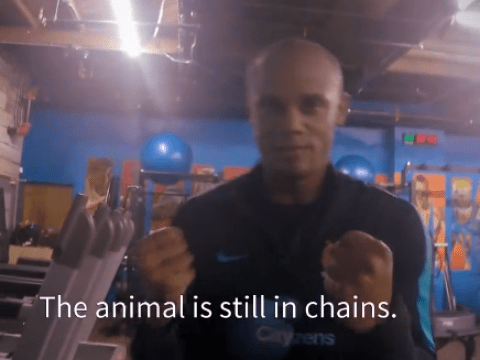Vincent Kompany: 'The animal is still in chains, but not for long!'