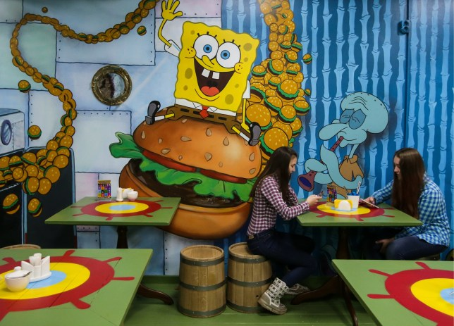 Theres A New Real Life Version Of The Cafe From Spongebob