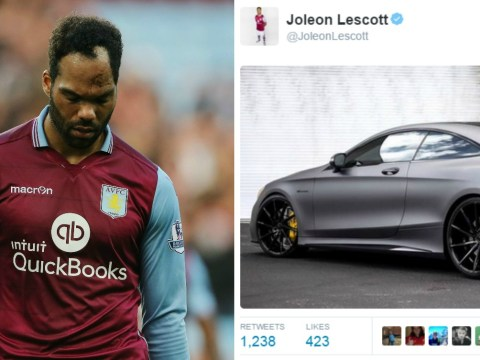 Aston Villa's Joleon Lescott apologises after enraging fans with tweet post 6-0 Liverpool thrashing