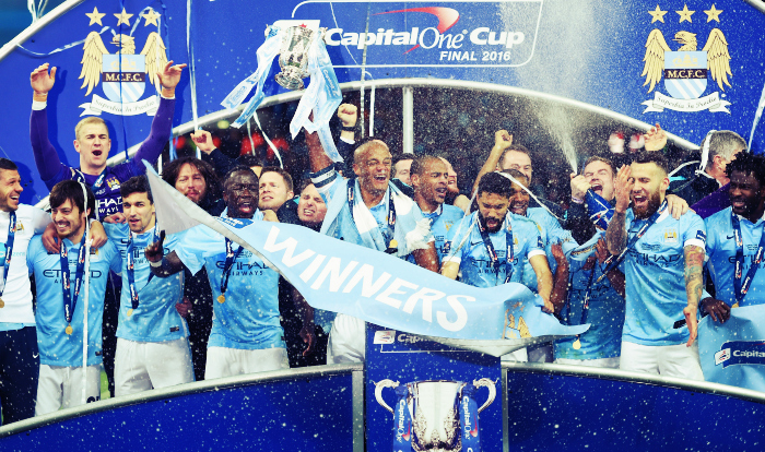 In pictures: Manchester City beat Liverpool to win Capital One Cup
