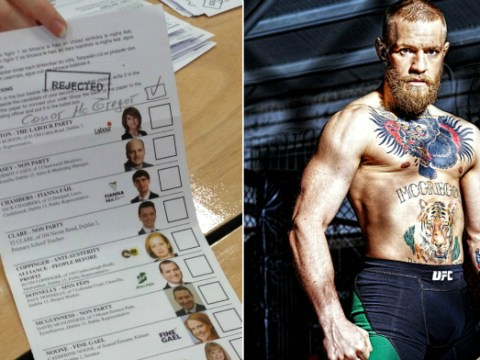 MMA fan voted for Conor McGregor at Irish elections ahead of UFC 196