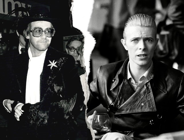 Elton John reveals 40 year feud with David Bowie Source: REX Features Credit: MylesGoode