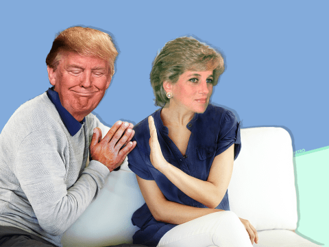 Donald Trump reckoned he could have 'nailed' Princess Diana