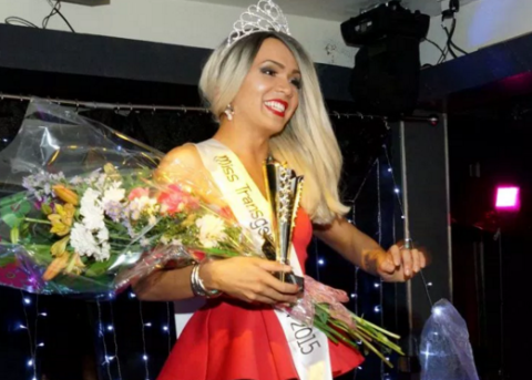 Transgender beauty queen stripped of her title because she is 'not transgender enough'