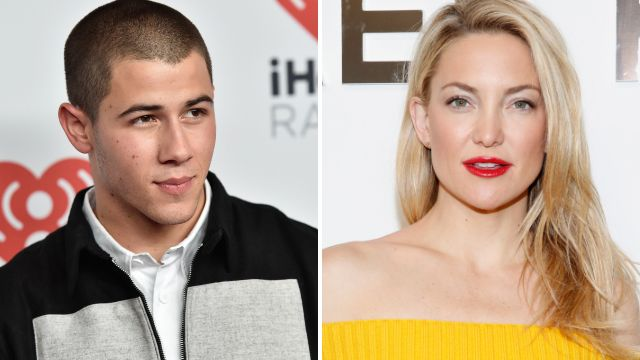 Nick Jonas was asked if he's had sex with Kate Hudson and this is his response