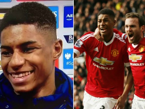 Manchester United fans will love Marcus Rashford's sassy interview