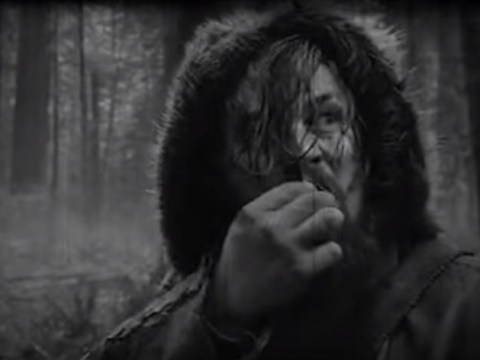 Leonardo DiCaprio's The Revenant as a 1920s silent film is very weird indeed