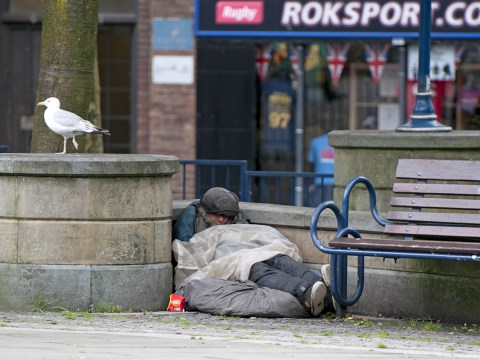 The number of people sleeping rough in England has jumped by 30 per cent