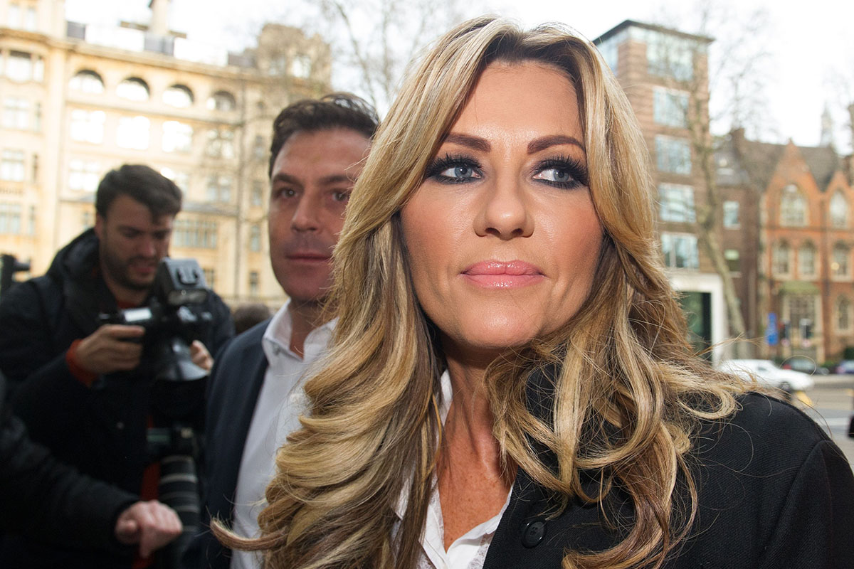 Mandatory Credit: Photo by REX/Shutterstock (5581321q) Dawn Ward Dawn Ward assault case, Westminster Magistrates Court, London, Britain - 04 Feb 2016 Multi-millionaire reality TV star Dawn Ward, 42, wife of former professional footballer Ashley Ward, 48, arriving at Westminster Magistrates Court in London today where she is accused of assaulting Sinitta Malone (aka 80s popstar Sinitta) at Salmontini le Resto, an Italian restaurant in Mayfair
