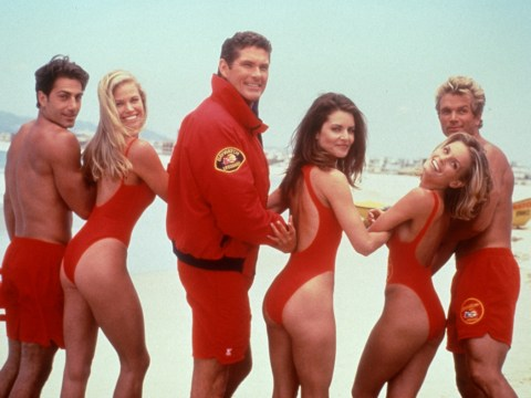 This is what the new Baywatch swimsuit looks like
