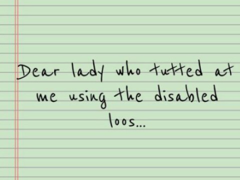 A year on from my viral letter about invisible disabilities – has anything changed for people using accessible toilets?