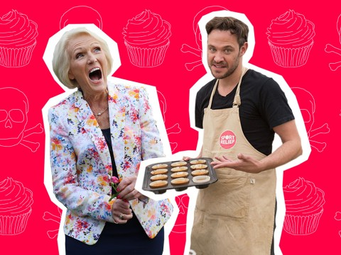 You fiend! Will Young reveals that he nearly POISONED Mary Berry on Great Sport Relief Bake Off