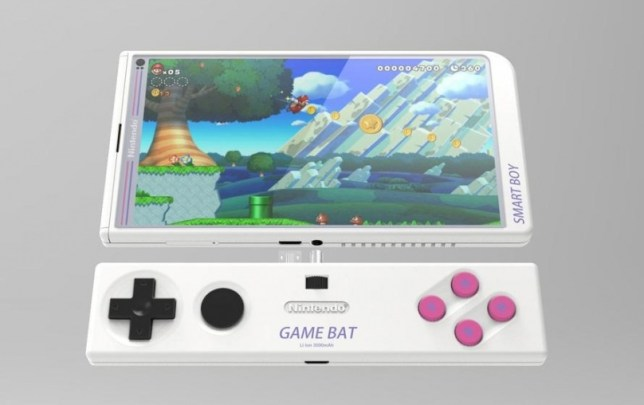This fan mock-up of a Nintendo smartphone sounds very close to what the NX may look like