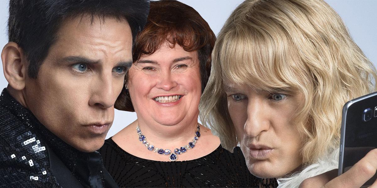 So, Susan Boyle has a surprise cameo in Zoolander 2