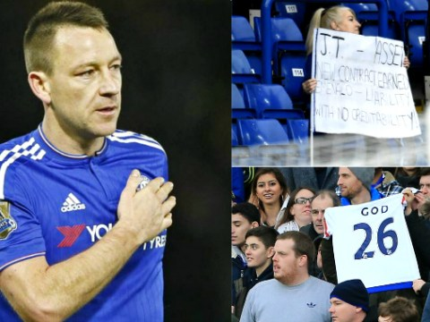 Chelsea fans demand John Terry stays in incredible show of support