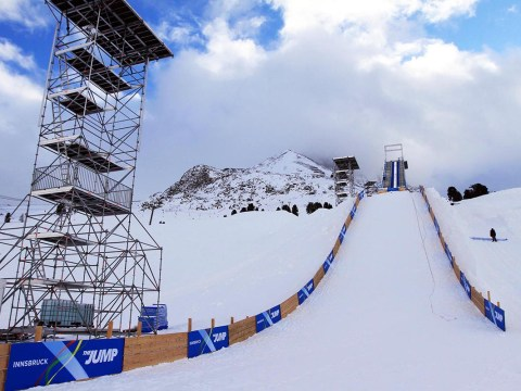 Channel 4 'board up' The Jump set in the wake of all the show's injuries