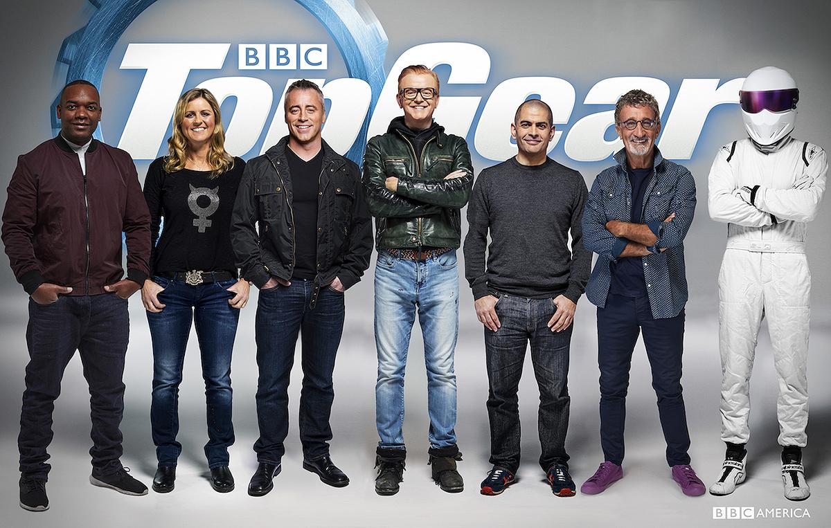 New top gear cast (Picture: BBC)