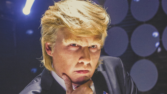Watch Johnny Depp playing Donald Trump in hilarious new mockumentary film