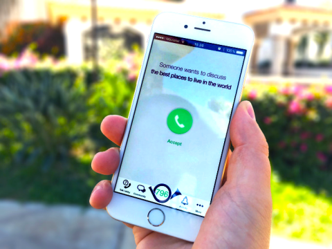 App will allow you to talk to a stranger on any subject