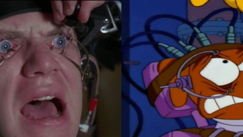 Here are the best Simpsons movie references alongside the original moments in one amazing video